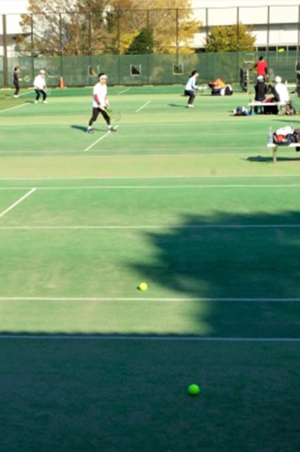 テニスで出会い