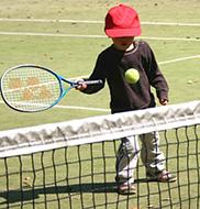 テニスと子供