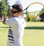 「ジムよりテニス」