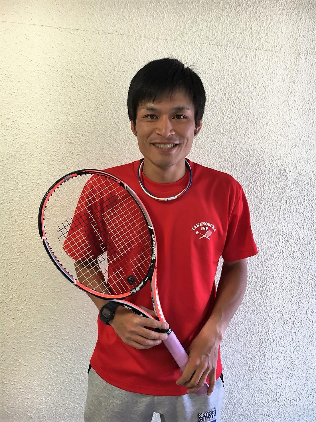 土屋 一人 テニスヘッドコーチ