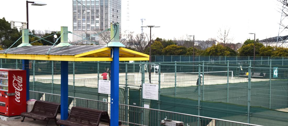 コート 神戸 西 テニス