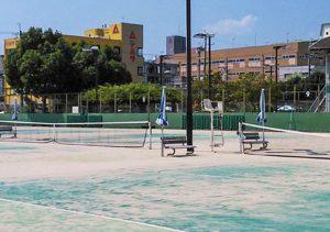 京都西院公園ミズノテニススクール