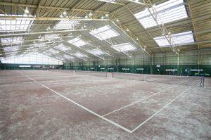 西武ドームテニスコート